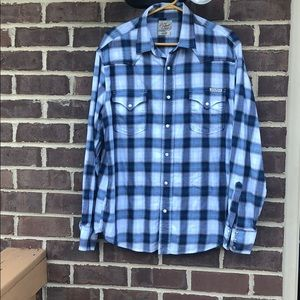 Lucky Brand western button down